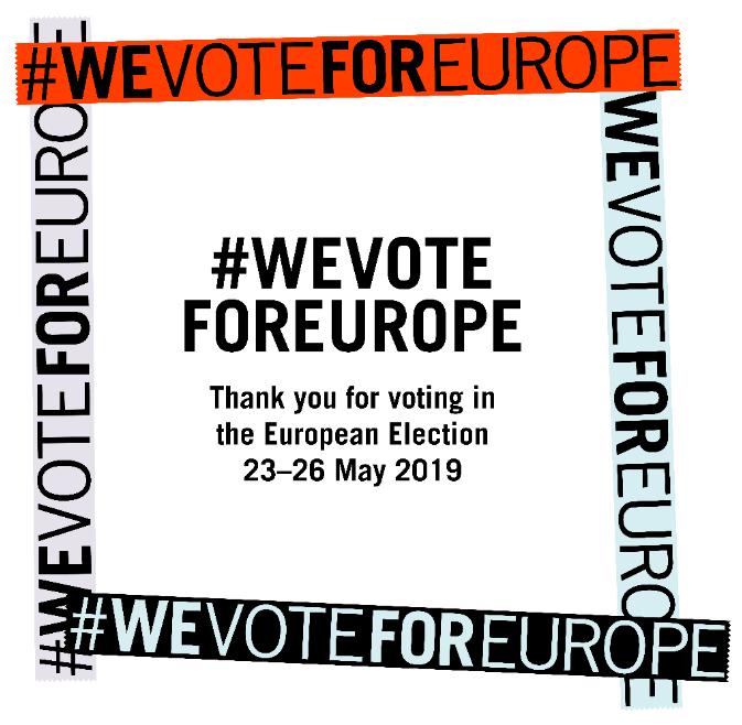 #WeVoteForEurope !