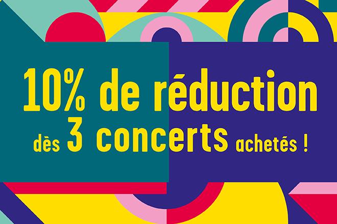 offre 3 concerts printemps de bourges credit mutuel