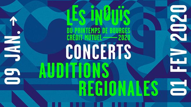 Auditions régionales iNOUïS 2020 ⚡