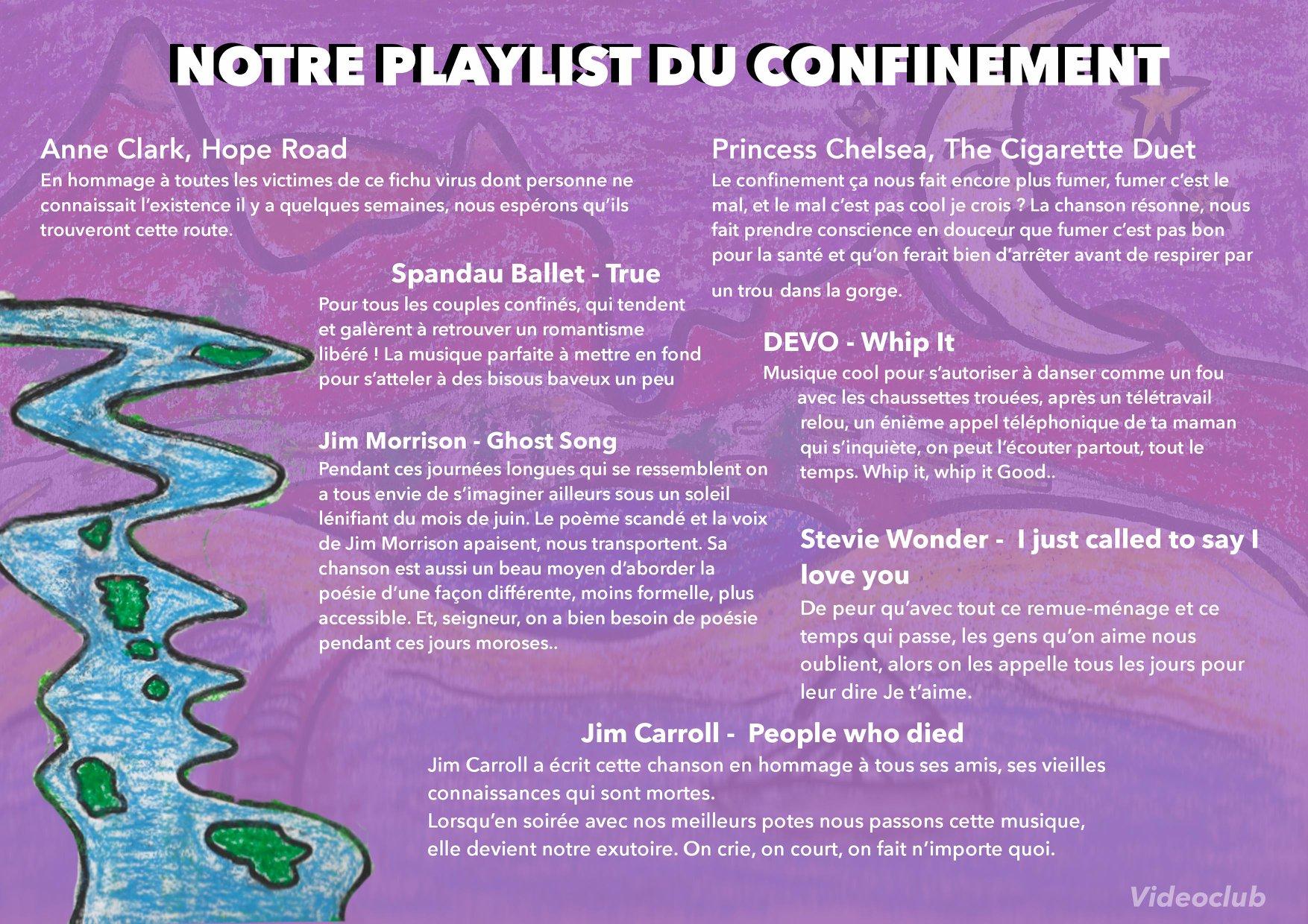 playlist videoclub printemps de bourges