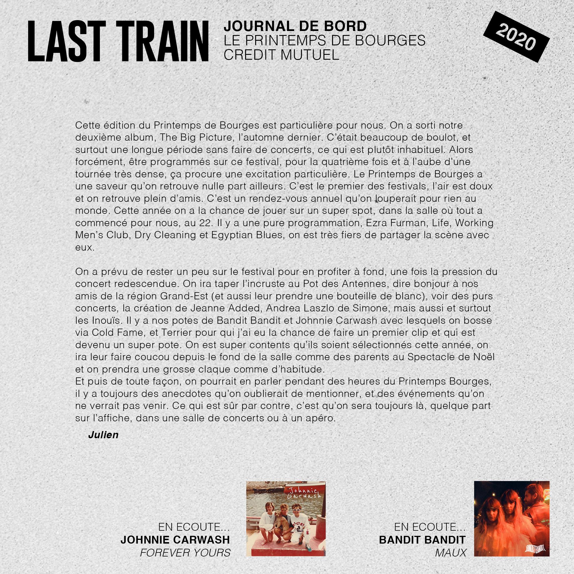 PDB LAST TRAIN 2020