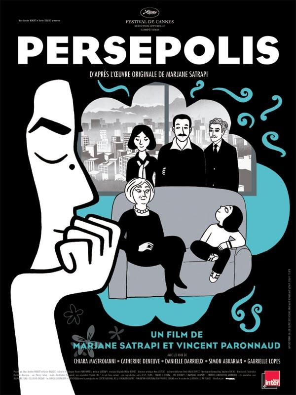 PERSEPOLIS AFFICHE