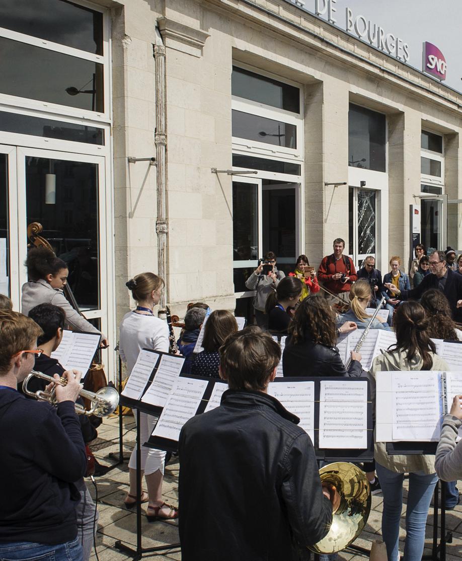 Instants musicaux Gare de Bourges