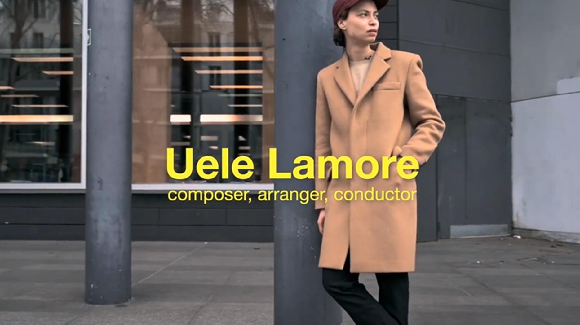 Rencontre entre Uèle Lamore et une IA